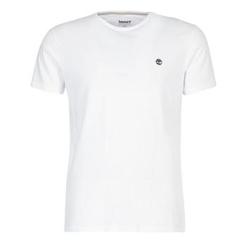 Textil Homem T-Shirt mangas curtas Timberland SS DUNSTAN RIVER CREW TEE Branco