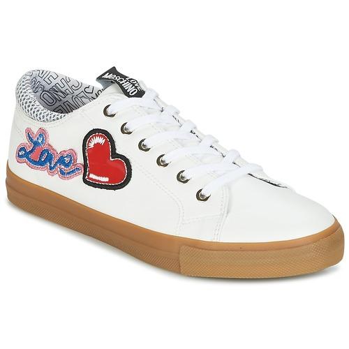 Sapatos Mulher Sapatilhas Love Moschino JA15213G15 Branco