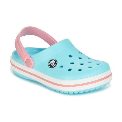 83de00084 Crocs Crocband Clog Kids Azul   Rosa - Entrega gratuita com a ...