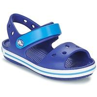 Sapatos Rapaz Sandálias Crocs CROCBAND SANDAL KIDS Azul