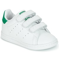 Sapatos Criança Sapatilhas adidas Originals STAN SMITH CF I Branco / Verde