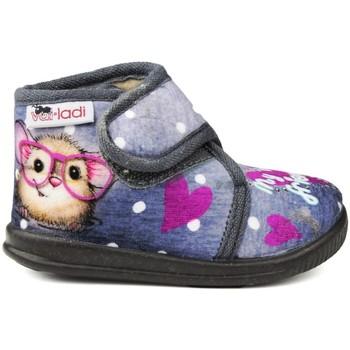 Sapatos Criança Pantufas bebé Vulladi PEK MEU MELHOR AMIGO cinza