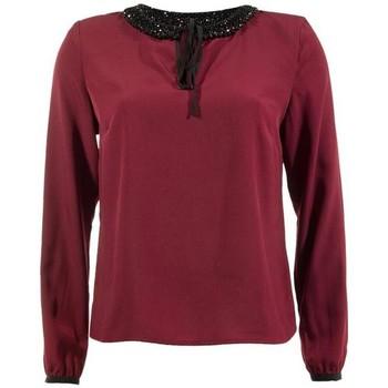 Textil Mulher Tops / Blusas Kocca Blusa Gurgung Vermelho