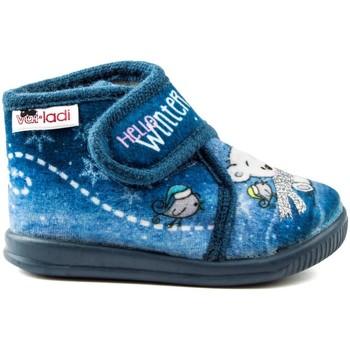 Sapatos Rapariga Chinelos Vulladi PEK HELLO AZUL