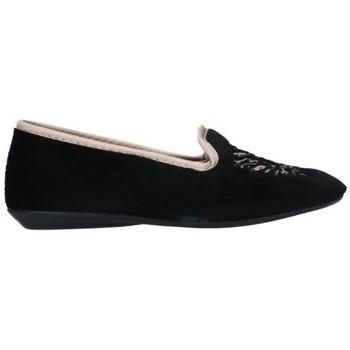 Sapatos Mulher Chinelos Norteñas 7-980-25 Mujer Negro noir