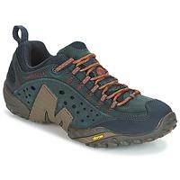 Sapatos Homem Sapatos de caminhada Merrell INTERCEPT Azul