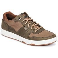 Sapatos Homem Sapatilhas Caterpillar LINE UP CANVAS Castanho