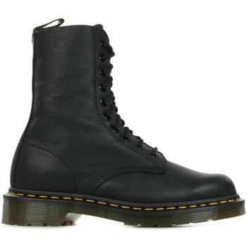 Sapatos Mulher Botas baixas Dr Martens 1490 Black Virginia Preto