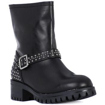 Sapatos Mulher Botas Frau TIBET NERO METAL Nero