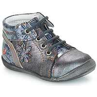 Sapatos Rapariga Botas baixas GBB ROSEMARIE Cinza / Azul - estampado