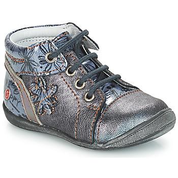 Sapatos Rapariga Botas baixas GBB ROSEMARIE Cinza / Azul