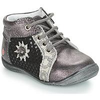 Sapatos Rapariga Botas baixas GBB RESTITUDE Prateado / Preto / Cinza