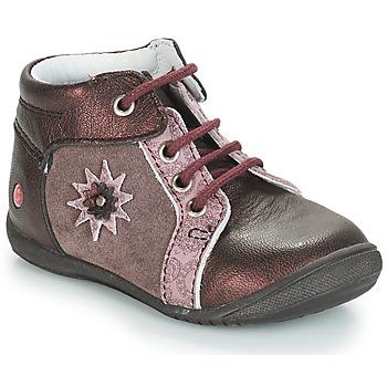 Sapatos Rapariga Botas baixas GBB RESTITUDE Rosa - bordô