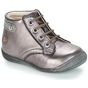 Sapatos Rapariga Botas baixas GBB NICOLE Violeta / Metalizado