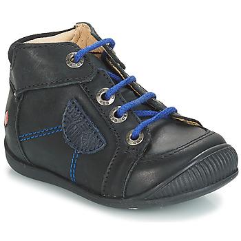 Sapatos Rapaz Botas baixas GBB RACINE Preto