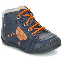 Sapatos Rapaz Botas baixas GBB RACINE Azul / Marinho