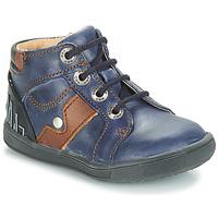Sapatos Rapaz Botas baixas GBB REGIS Azul