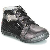 Sapatos Rapariga Sapatilhas de cano-alto GBB RICHARDINE Preto / Cinza