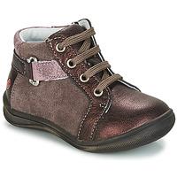 Sapatos Rapariga Botas baixas GBB RICHARDINE Castanho / Bronze