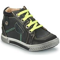 Sapatos Rapaz Botas GBB RAYMOND Cinzento-preto