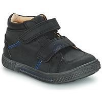 Sapatos Rapaz Botas baixas GBB ROBERT Preto