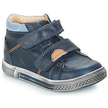 Sapatos Rapaz Botas baixas GBB ROBERT Azul