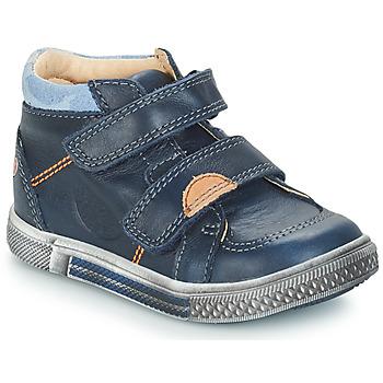 Sapatos Rapaz Sapatilhas de cano-alto GBB ROBERT Azul