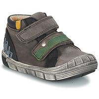 Sapatos Rapaz Botas baixas GBB REMI Cinzento-preto