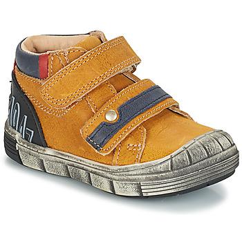 Sapatos Rapaz Botas baixas GBB REMI Amarelo