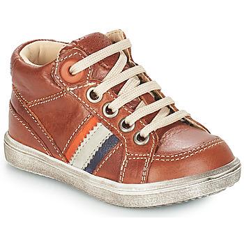 Sapatos Rapaz Botas GBB ANGELITO Castanho