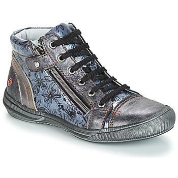 Sapatos Rapariga Botas baixas GBB RACHIDA Cinza / Azul - estampado