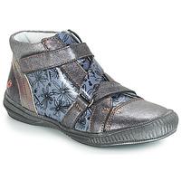 Sapatos Rapariga Botas baixas GBB RADEGONDE Cinza / Azul - estampado
