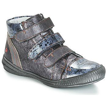 Sapatos Rapariga Botas baixas GBB RAFAELE Cinza / Azul - estampado