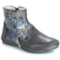 Sapatos Rapariga Botas baixas GBB REVA Cinza / Azul