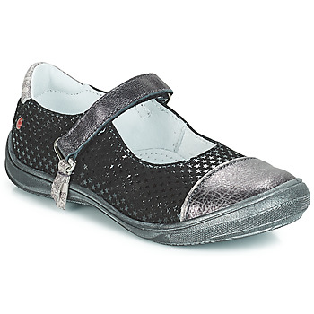 Sapatos Rapariga Sabrinas GBB RIKA Preto / Prata