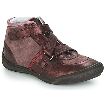 Sapatos Rapariga Sapatilhas de cano-alto GBB RIQUETTE Castanho / Bronze