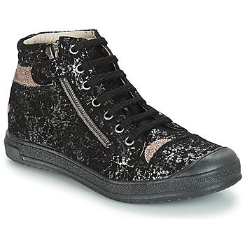 Sapatos Rapariga Botas baixas GBB DESTINY Preto-dourado