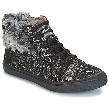 Sapatos Rapariga Botas baixas GBB ROBERTA Preto / Estampado