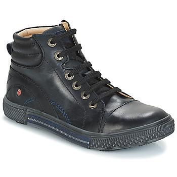 Sapatos Rapaz Botas baixas GBB RALPH Preto