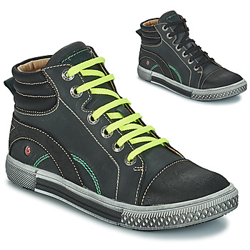 Sapatos Rapaz Botas baixas GBB RALPH Cinzento-preto