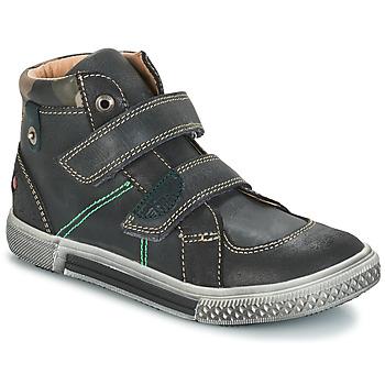 Sapatos Rapaz Botas baixas GBB RANDALL Cinzento-preto