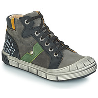 Sapatos Rapaz Botas baixas GBB RENZO Cinzento-preto