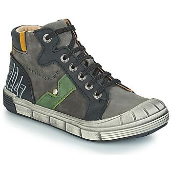 Sapatos Rapaz Sapatilhas de cano-alto GBB RENZO Cinza