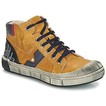 Sapatos Rapaz Botas baixas GBB RENZO Amarelo