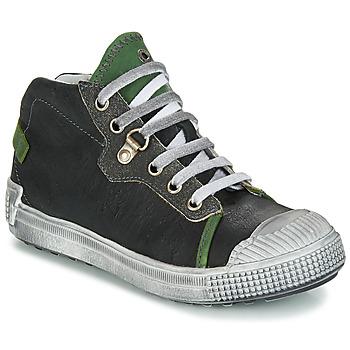 Sapatos Rapaz Botas baixas GBB RONALD Preto-verde