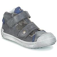 Sapatos Rapaz Sapatilhas de cano-alto GBB ROMULUS Cinza / Azul
