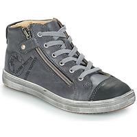 Sapatos Rapaz Sapatilhas de cano-alto GBB NICO Cinza