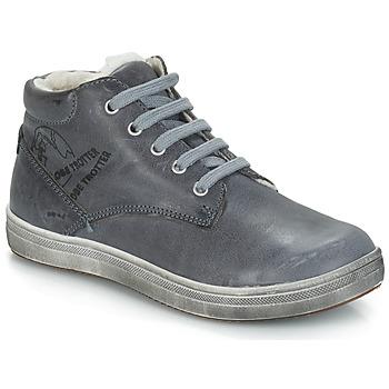 Sapatos Rapaz Botas GBB NINO Cinza