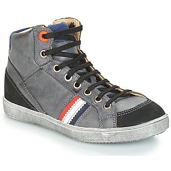 Sapatos Rapaz Botas baixas GBB ANGELO Cinza