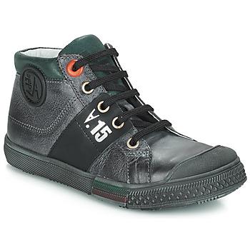 Sapatos Rapaz Sapatilhas de cano-alto GBB RUFINO Cinza